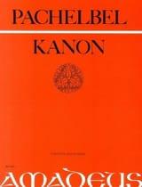 Canon -3 Violinen u. Bass - Partitur + Stimmen laflutedepan.com