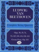 BEETHOVEN - Cuartetos de cuerda completos - Conductor - Partitura - di-arezzo.es
