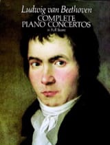 Ludwig van Beethoven - Complete Piano Concertos - Full Score - Partition - di-arezzo.fr