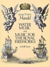 HAENDEL - Water Music - Music for the Royal Fireworks - Full Score - Sheet Music - di-arezzo.co.uk
