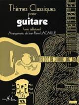 Thèmes classiques pour guitare Jean-Pierre Lacaille laflutedepan.com