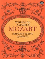 MOZART - Complete String Quartets - Full Score - Partitura - di-arezzo.it