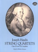HAYDN - String Quartets Op. 20 and 33 - Sheet Music - di-arezzo.co.uk