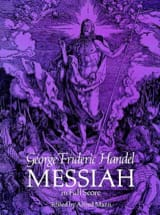 Messiah - Full Score HAENDEL Partition Grand format - laflutedepan