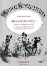Man lebt nur einmal ! op. 167 –Klarinette Streichquartett laflutedepan.com