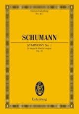 Sinfonie Nr. 1 B-Dur SCHUMANN Partition laflutedepan.com