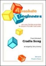 Cradle Song / Berceuse - Franz Schubert - Partition - laflutedepan.com