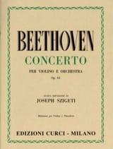 Concerto pour Violon op. 61 BEETHOVEN Partition laflutedepan.com