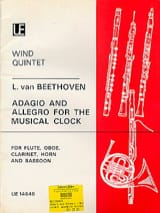 Adagio and Allegro for The Musical Clock - Wind quintet laflutedepan