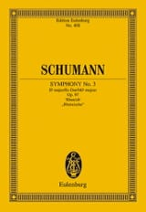 SCHUMANN - Symphony No. 3 Es-Dur op. 97 - Partitur - Sheet Music - di-arezzo.co.uk