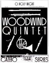 - O Holy Night –Woodwind quintet - Partition - di-arezzo.fr