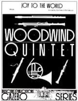 Joy to the World - Woodwind quintet Partition laflutedepan.com