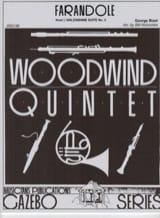 Farandole -Woodwind quintet Georges Bizet Partition laflutedepan.com