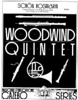 Fritz Kreisler - Schön Rosmarin –Woodwind quintet - Partition - di-arezzo.fr