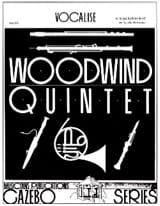 Vocalise Oboe solo version - Woodwind quintet laflutedepan.com