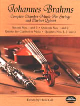 BRAHMS - Complete Chamber Music for Strings and Clarinet Quintet - Full Score - Sheet Music - di-arezzo.co.uk