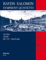 Symphony Quintetto Die Uhr Hob. 1 : 101 - Partitur + Stimmen - laflutedepan.com