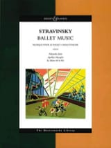 Ballet Music - Score Igor Stravinsky Partition laflutedepan.com