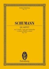 Robert Schumann - Streichquartett A-Moll Op. 41/1 - Conducteur - Partition - di-arezzo.fr