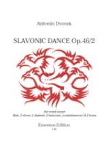 Danse Slave, Op. 46 N°2 - Nonette à Vents DVORAK laflutedepan.com