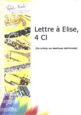 Lettre à Elise - Quatuor clarinettes BEETHOVEN laflutedepan.com