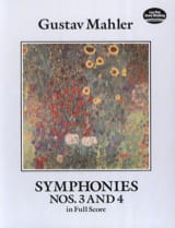 Gustav Mahler - Symphonies N ° 3 and 4 - Sheet Music - di-arezzo.com