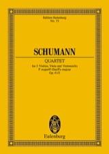 Robert Schumann - Streichquartett F-Dur Op. 41/2 - Conducteur - Partition - di-arezzo.fr