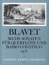 Michel Blavet - 6 Sonaten op. 2 (Bd. 1) – Flöte und Bc - Partition - di-arezzo.fr