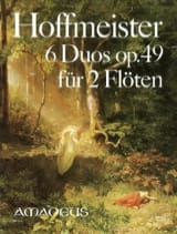 Franz Anton Hoffmeister - 6 Duos, op. 49 - 2 Flöten - Partition - di-arezzo.fr