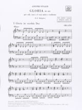 VIVALDI - Gloria RV 589 - Hardware - Sheet Music - di-arezzo.co.uk