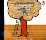 CD / Ma 5ème année de formation musicale SICILIANO laflutedepan.com