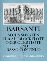 6 Sonaten f. Altblockflöte Querfl. - Bd. 1 laflutedepan.com