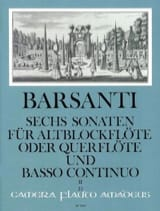 6 Sonaten f. Altblockflöte (Querfl.) - Bd. 2 laflutedepan.com