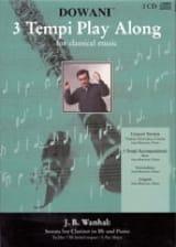 Sonate pour clarinette et piano Johann Baptist Vanhal laflutedepan