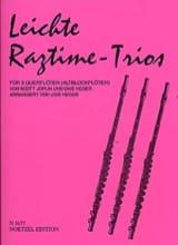 Leichte Ragtime-Trios - 3 Flöten (Altblockflöten) laflutedepan.com