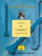 8 1/2 - 5 clarinettes sib et clar. basse Nino Rota laflutedepan.com