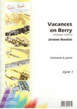 Vacances en Berry Jérome Naulais Partition laflutedepan.com