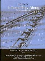Album n° 6-7-8 - Score accompagnement piano laflutedepan.com