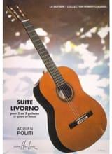 Suite Livorno Adrien Politi Partition Guitare - laflutedepan.com