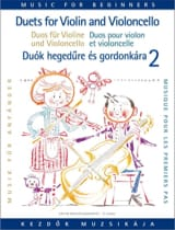 Pejtsik Arpad / Vigh Lajos - Duets for Violin and Cello Volume 2 - Sheet Music - di-arezzo.co.uk