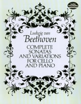 Complete sonatas and variations for cello and piano - Full Score laflutedepan.com