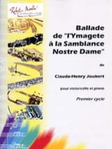 Claude-Henry Joubert - Ballad of '' Ymagete at the Samblance Nostre Dame - Sheet Music - di-arezzo.co.uk
