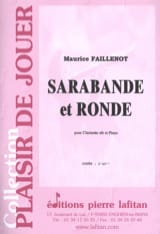 Maurice Faillenot - Sarabande and Round - Sheet Music - di-arezzo.co.uk