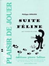 Suite féline - Philippe Oprandi - Partition - laflutedepan.com