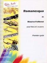 Romanesqua - Maurice Faillenot - Partition - laflutedepan.com