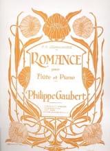 Romance - Philippe Gaubert - Partition - laflutedepan.com