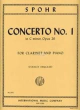 Louis Spohr - Clarinet Concerto no. 1 c minor op. 26 - Sheet Music - di-arezzo.co.uk