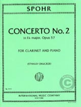 Louis Spohr - Clarinet Concerto No. 2 Eb major op. 57 - Sheet Music - di-arezzo.co.uk