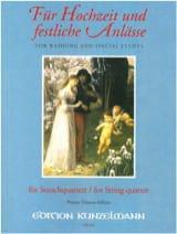 Werner Thomas-Mifune - Für Hochzeit und festliche Anlässe – String Quartet - Partition - di-arezzo.fr