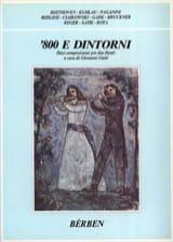 800 E Dintorni - 2 Flûtes Partition laflutedepan.com